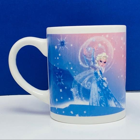 Frozen Disney Elsa Anna coffee mug cup let it go